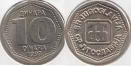 Yugoslavia 10 Dinari 1993 Km#157 - Used - Jugoslavia