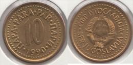 Yugoslavia 10 Para 1990 Km#139 - Used - Jugoslavia
