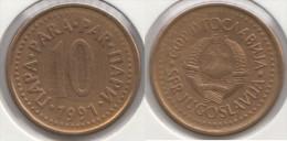 Yugoslavia 10 Para 1991 Km#139 - Used - Jugoslavia