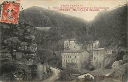 - Ref - G773 - Aude - Bains Des Carcanieres - Vue Generale Des Etablissments Esparre - Chalet De La Cascade - - Frankreich