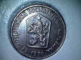 Tchecoslovaquie - 50 Haleru 1970 - Czechoslovakia