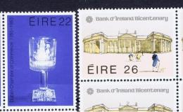 IRL+ Irland 1983 Mi 504-05 518-19 Mnh Handelskammer, Jackson, Von Paul - 1949-... République D'Irlande