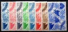 1/ Cote Des Somalis : Entre   N° 234 à 241   Neuf XX , Cote : 9,00 € , Disperse Trés Grosse Collection ! - Côte Française Des Somalis (1894-1967)