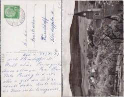 Bund Heuss Mi 183 PSt I Stempel Wiemeringhausen ü Bestwig Kte 1957 - Storia Postale