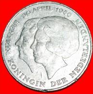 ★CORONATION: NETHERLANDS ★ 2 1/2 GULDEN 1980! LOW START ★ NO RESERVE! - [ 3] 1815-… : Kingdom Of The Netherlands