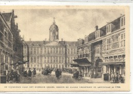 Amsterdam De Vijgendam -Patria Biscuits - Werbepostkarten