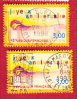 Joyeux Anniversaire Lot De 2 - France