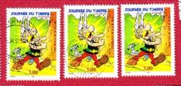 Journée Du Timbre Astérix Lot De 3 - France