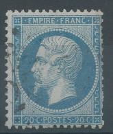 Lot N°30252     N°22, Oblit GC - 1862 Napoleon III