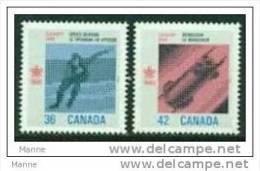 "-Canada-1987-""Olympic Winter Games"" MNH  (**) - 1952-.... Reign Of Elizabeth II"