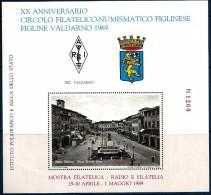 FIGLINE VALDARNO Radioamatori Foglietto Erinnofilo  Nuovo ** MNH - Erinnofilia