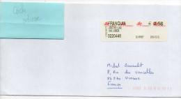 Portugal-2004--Lettre Du Portugal (FRANQUIA) Pour La France --vignette Affranchissement  0.56€ - 1910-... République
