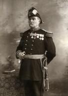 France Clermont Ferrand Militaire Officier Medaille Ancienne Carte Cabinet Photo Gendraud 1895 - Photographs