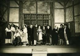 France Bourg La Reine Theatre Acteurs Piece L'Ami Fritz Ancienne Photo 1932 - Photographs