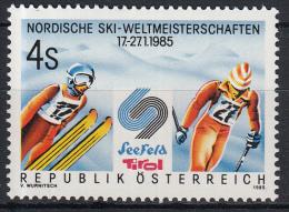 Oostenrijk - Nordische Skiweltmeisterschaften, Seefeld - MNH - M 1801 - Skisport