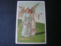 == Engel Litho Aus Offenbach 1907 Nach Bierstein - Engel