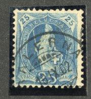 4907  Swiss 1902  Mi.#67D (o)  Zum. #73E   Cat. 3.€  -Offers Welcome!- - Gebraucht