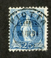 3528   Swiss 1901   Mi.#67D (o) Zum.#73E  Scott #94a  Cat. 2.€ -Offers Welcome!- - Gebraucht