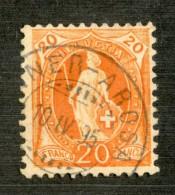 3341  Swiss 1895   Mi.#58YC (o) Scott.#82a    Cat. 3.€ -Offers Welcome!- - Gebraucht