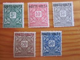 Haute Volta * Taxe - Haute-Volta (1920-1932)