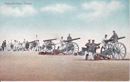 AK Fuss-Artillerie-Übung - Patriotika - 1. WK (16906) - Guerre 1914-18