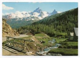 Vallée De La Clarée--NEVACHE--1989--Chalets De Laval Et De La Grande Manche (refuges),cpm N° 1254 éd  Francou - Autres Communes