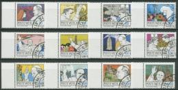 Vatikan 1984 Die Weltreisen Von Papst Johannes Paul II. 852/63 Gestempelt - Vaticano (Ciudad Del)