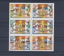 140020790  LESOTHO  YVERT   Nº   431/6  **/MNH - Lesotho (1966-...)
