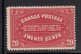 Canada MNH Scott #E2a 20c Special Delivery, 41mm Wide - Special Delivery