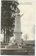 PLASNE Le Monument Aux Morts N° 36807  - Cpa Jura - Frankrijk