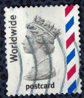 Royaume Uni 2004 Oblitéré Used Queen Elizabeth II Worldwide Postcard - 1952-.... (Elizabeth II)