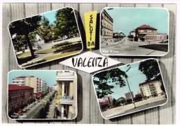 E3154 Saluti Da Valenza (Alessandria) - Giardini Pubblici - Viale Milano - Piazza Gramsci - Viale Dante / Viaggiata 1964 - Italia