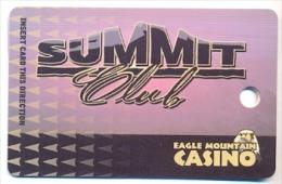 Eagle Mountain Casino, Porterville, CA, U.S.A., older used slot or player�s card,  eaglemountain-3