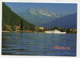 SWITZERLAND - AK 237369 Villeneuve - VD Waadt