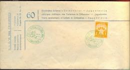 CROATIA  - HRVATSKA  - CRIKVENICA - 60 Y. Of  TURISM - 1953 - RARE  COVER - Kroatien