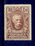 ! ! Portugal - 1925 Camilo Castelo Branco Writer 80 C - Af. 348 - MH - 1910-... Republic