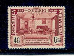 ! ! Portugal - 1925 Camilo Castelo Branco Writer 48 C - Af. 344 - MH - 1910-... Republic