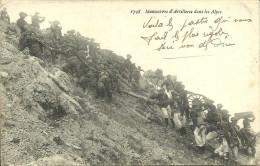 Chasseurs Alpins  - Manoeuvre D'artillerie Dans Les Alpes                             -- La Plus Belle 1798 - Reggimenti