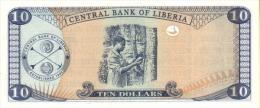 LIBERIA P. 27e 10 D 2009 UNC - Liberia