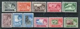 JOHOR 1960 SULTAN IBRAHIM & LOCAL MOTIFS NICE LOT SEE SCAN - Malaysia (1964-...)