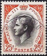 Monaco 1959 - Prince Rainier III ( Mi 622 - YT 504 ) - Usati