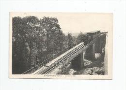 Cp , Chemin De Fer , Train , 52 , LANGRES , La Crémaillère , Voyagée - Trenes