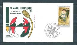 Enveloppes  Philatélique, école Centrale Chatenay Malabry  17/01/76 - Documents De La Poste