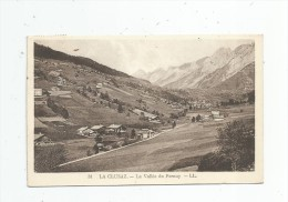 Cp , 74 , LA CLUSAZ , La Vallée Du FERNUY , Voyagée - La Clusaz