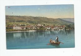 Cp , SUISSE , ZOUG , ZUG , Barque , Ed : W. Wyss Erben , 8137 , Vierge - ZG Zug