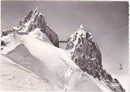 74. Gf. Arrivée Du Téléférique Chamonix-Aiguille Du Midi à La Côte 3842 M. 1039 - Chamonix-Mont-Blanc