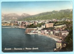 Sorrento - Panorama E Marina Grande - Napoli (Naples)