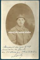Guerre De 1914-1918 : Poilu Du 87e D'Infanterie En 1917  - Port Métropole Compris. - War, Military