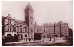 Nottingham - Victoria Station And Hotel - Nottingham