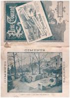 Catalogue CH BOUBES (bordeaux) 1895: Ciment, Chaux, Tuyaux Etc   (CAT 230) - France